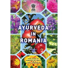 Ayurveda in Romania, V1e1 2018 color, English version. Authors: Andrei Gamulea, Aurora Nicolae