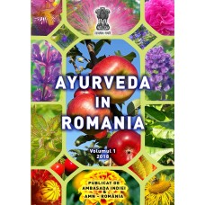 Ayurveda in Romania, V1e1 2018 color, Romanian version. Authors: Andrei Gamulea, Aurora Nicolae